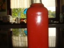 Hausgemachter Tomatenketchup  -      1 Flasche ca. 500 ml - Rezept