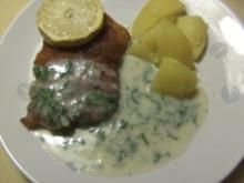 Fisch: Seelachs in Kräutersoße - Rezept