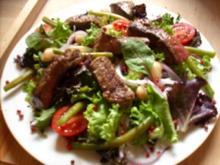 Schlemmersalat mit Rinderfiletstreifen - Rezept