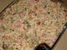 pasta salat - Rezept