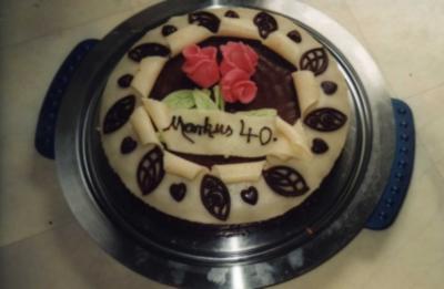 Orangen-Geburtstags-Torte - Rezept