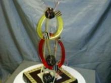 Kreative Schokocreme mit Zuckeraufsatz und Schokoladenarbeiten. - Rezept