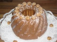 schneller Amaretto-Nuss-Kuchen - Rezept