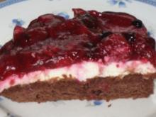 Beerenkuchen mit Mascarpone - Rezept