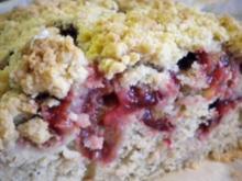 Kuchen: Zwetschge-Buttermilch-Streusel(-decke) - Rezept