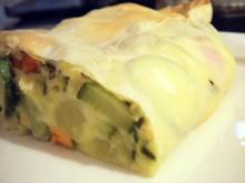 Pikantes Gebäck: Gemüsestrudel - Rezept