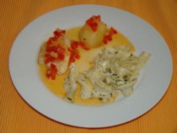 Hühnerbrust in Paprika - Orangen - Sauce - Rezept