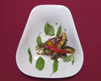 Lasagne vom Rinderfilet mit gebratenem Gemüse - Rezept