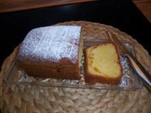 Mandarinenrührkuchen - Rezept