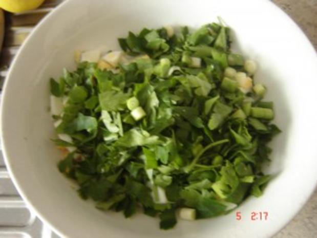 Petersilien-Eier Salat - Rezept - Bild Nr. 4