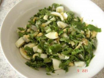 Petersilien-Eier Salat - Rezept