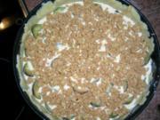 Italienischer Zwetschgenkuchen - siehe Fotos - auch ein Nicht-sogerne-Bäcker fabriziert mal was - Rezept