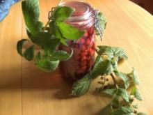 Getränke: Himbeerlikör - Rezept