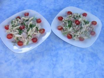 Nudel - Tunfisch - Salat - Rezept