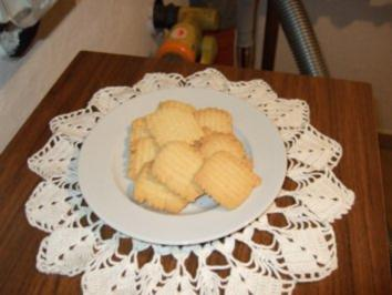 Oma Ernas Butter-Plätzchen - Rezept