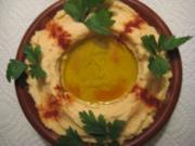 ** Ägyptisch ** Hommus (Kichererbsenmus) Vorspeise - Rezept