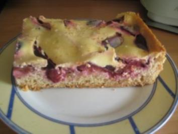 Pflaumen-Schmand-Kuchen - Rezept