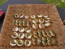 TAPAS /Schweineöhrchen a la Eva +Feigenschiffchen - Rezept