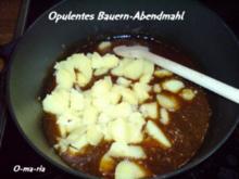 Kartoffelernte Opulentes Bauernabendmahl - Rezept