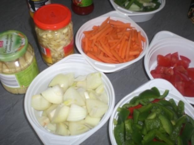 """Wokgericht """"Thai"""" mi Ananas und Curry - Rezept - Bild Nr. 3"""