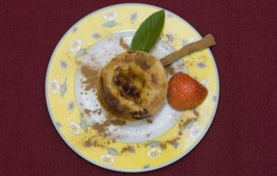 Rezept: Pastéis de Nata - Portugiesische Blätterteigtörtchen mit Vanillecremefüllung (Wolfgang Bahro)