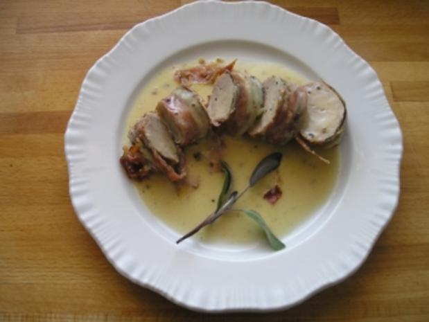 Schwein/ Schweinefilet im Speckmantel - Rezept