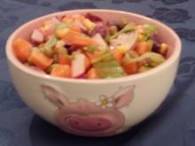 Salat - Bunter Sommersalat - Rezept