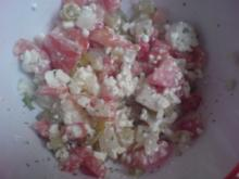 "Salat ""Bunter Hüttenkäse-Salat"" - Rezept"