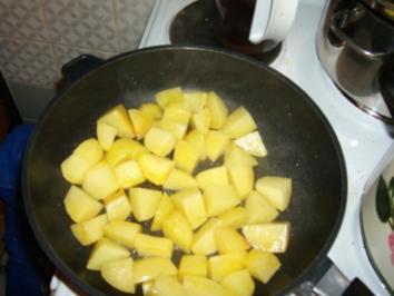 Peschauri Gobi, aus Indien: Kartoffeln mit Blumenkohl - Rezept