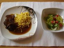 Rinderschmorbraten mit Rotweinsauce - Rezept