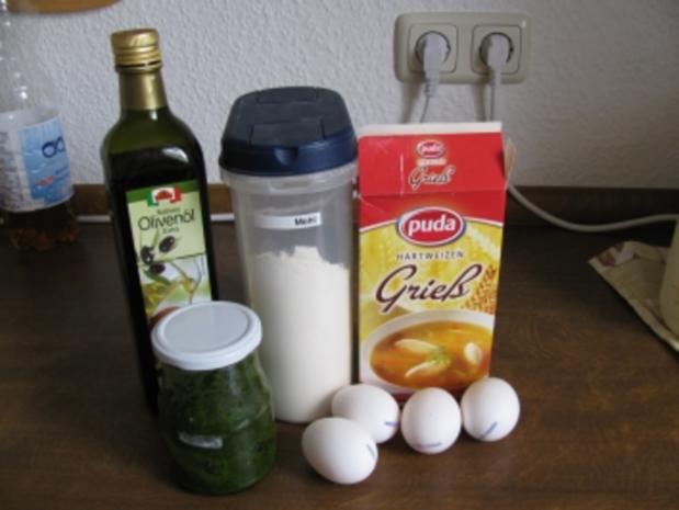 Bärlauchnudeln - Rezept