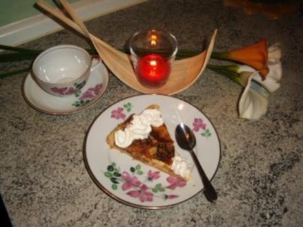 Apfel -Blätterteig-Kuchen - Rezept