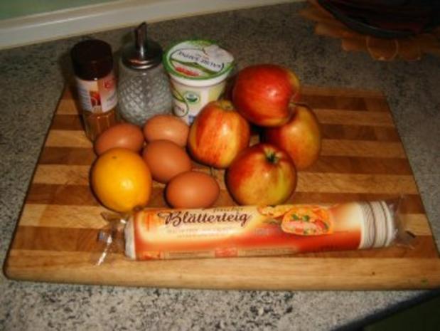 Apfel -Blätterteig-Kuchen - Rezept - Bild Nr. 2