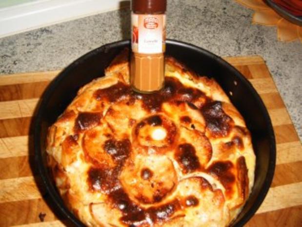 Apfel -Blätterteig-Kuchen - Rezept - Bild Nr. 6