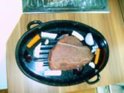 Rinderschmorbraten in Rotweinsoße - Rezept