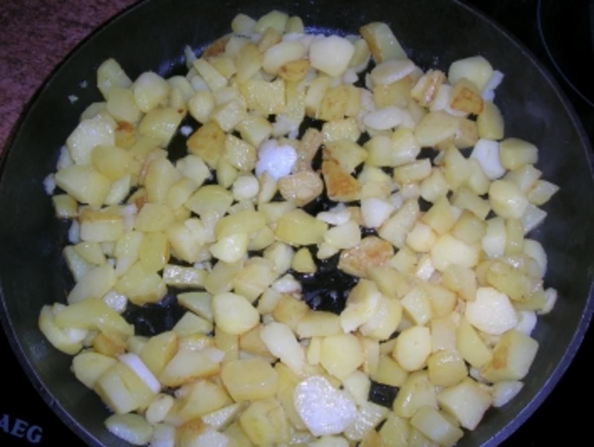 Holzfällersteak mit Bratkartoffeln defitig, kräftig, einfach lecker so  wie wir es mögen