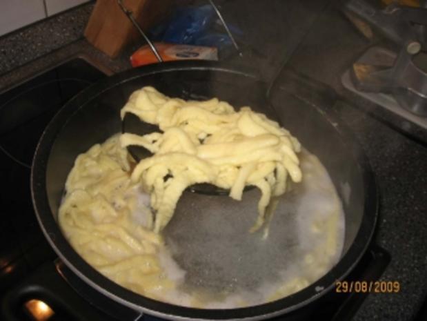 Käsespätzle vegetarisch - Rezept - Bild Nr. 8