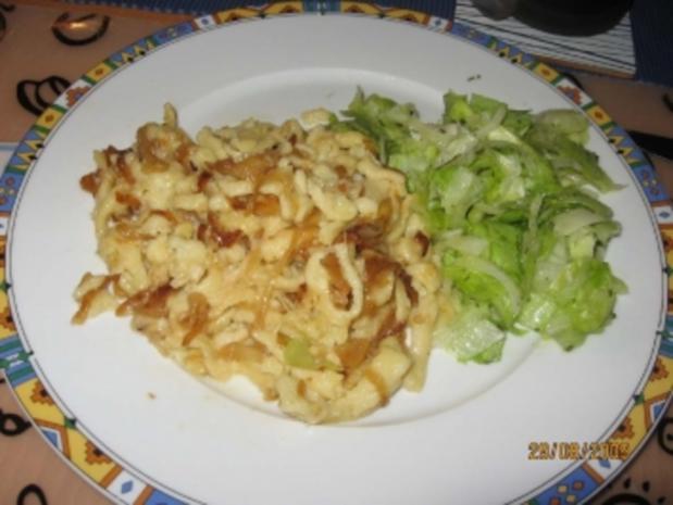Käsespätzle vegetarisch - Rezept