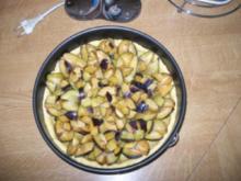 Pflaumenkuchen mit Haselnuss-Zimt-Streusel - Rezept
