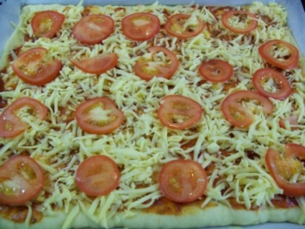 "Pizza "" Mare"" e ""Amore"" - Rezept - Bild Nr. 8"