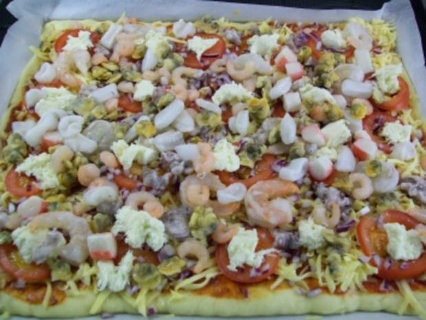 "Pizza "" Mare"" e ""Amore"" - Rezept - Bild Nr. 11"