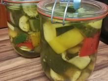 Zucchini süss/sauer eingemacht - Rezept - Bild Nr. 2