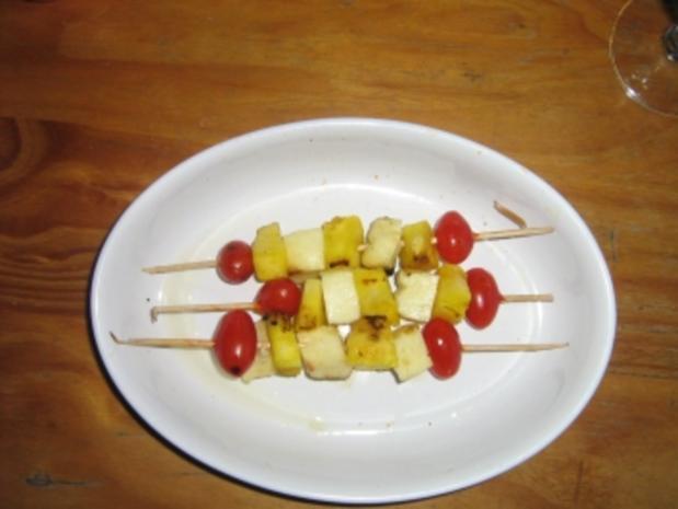 Käse - Ananas - Spieße - Rezept - Bild Nr. 7