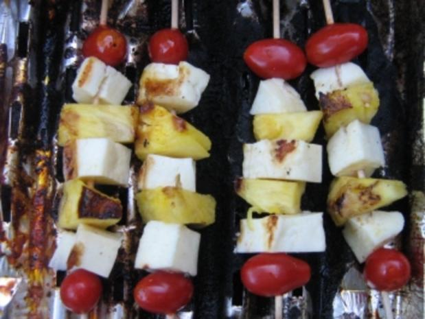 Käse - Ananas - Spieße - Rezept - Bild Nr. 6