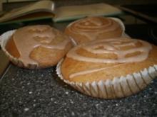 Milchreis-Zimt-Muffins mit Guss - Rezept
