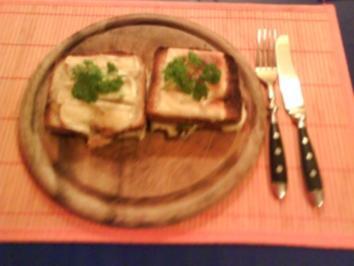 Abendbrot: Der Doppeldeckertoast - Rezept