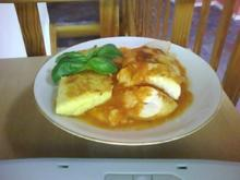 Tomaten-Mozarella-Schnitzel - Rezept