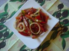 Ungarischer Salami-Wurst-Salat, Partysalat - Rezept