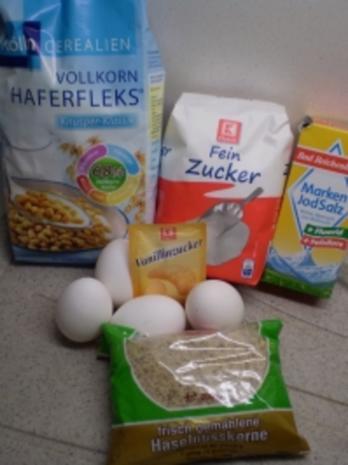Knusprige Nuss-Makronen - Rezept