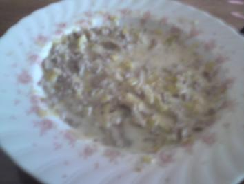 Laktosefreie Porree- Käse- Suppe - Rezept
